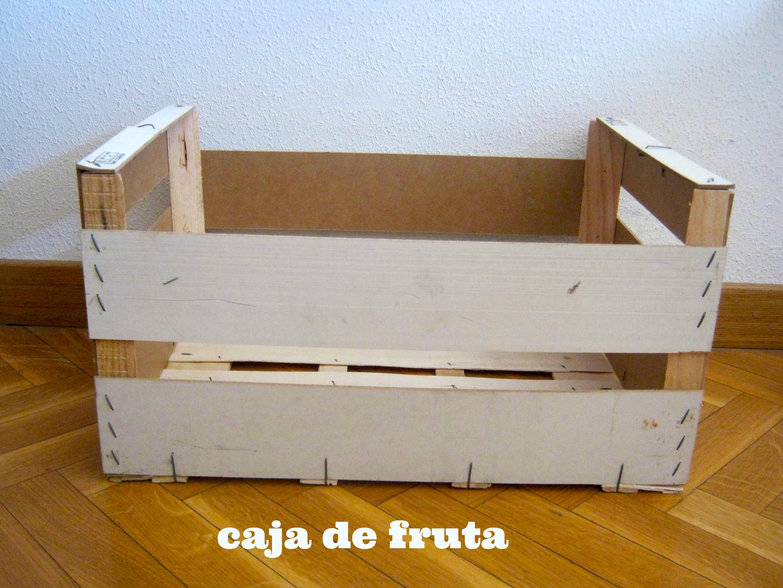 Recicla una caja de fruta - Caja de frutas de madera ...