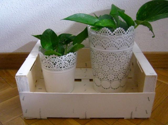 recicla caja de fruta