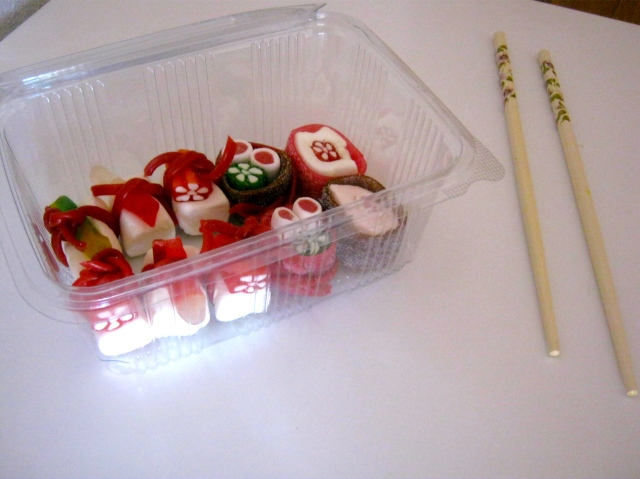 sushi gominolas