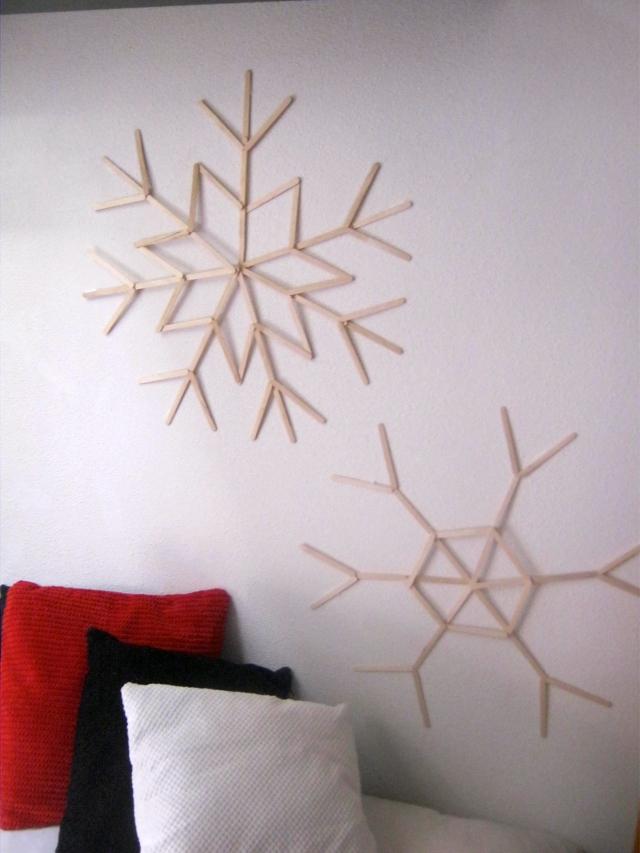 DIY copos de nieve