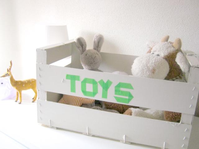 caja juguetes reciclada