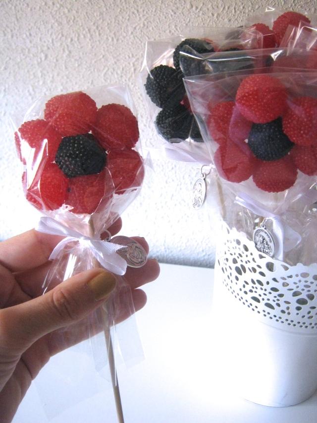 flores de gominola