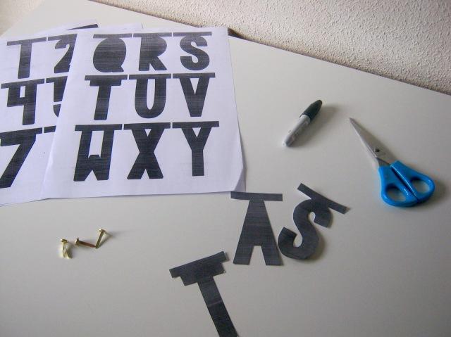 word banner