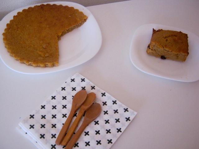 tarta de pan