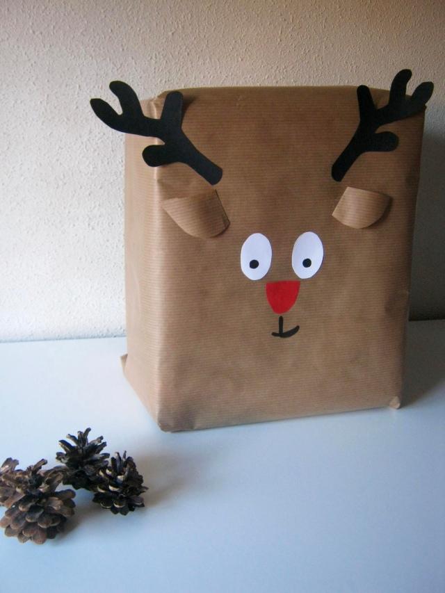 regalo navidad reno