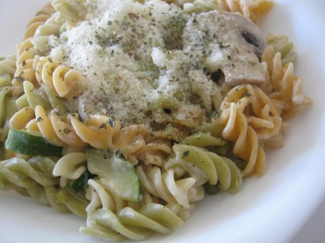 pasta con verdura
