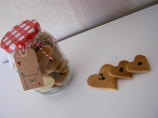 tarro con galletas